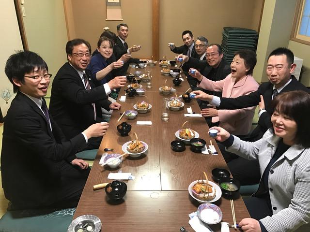 紫波町日本酒乾杯条例が施行されました。